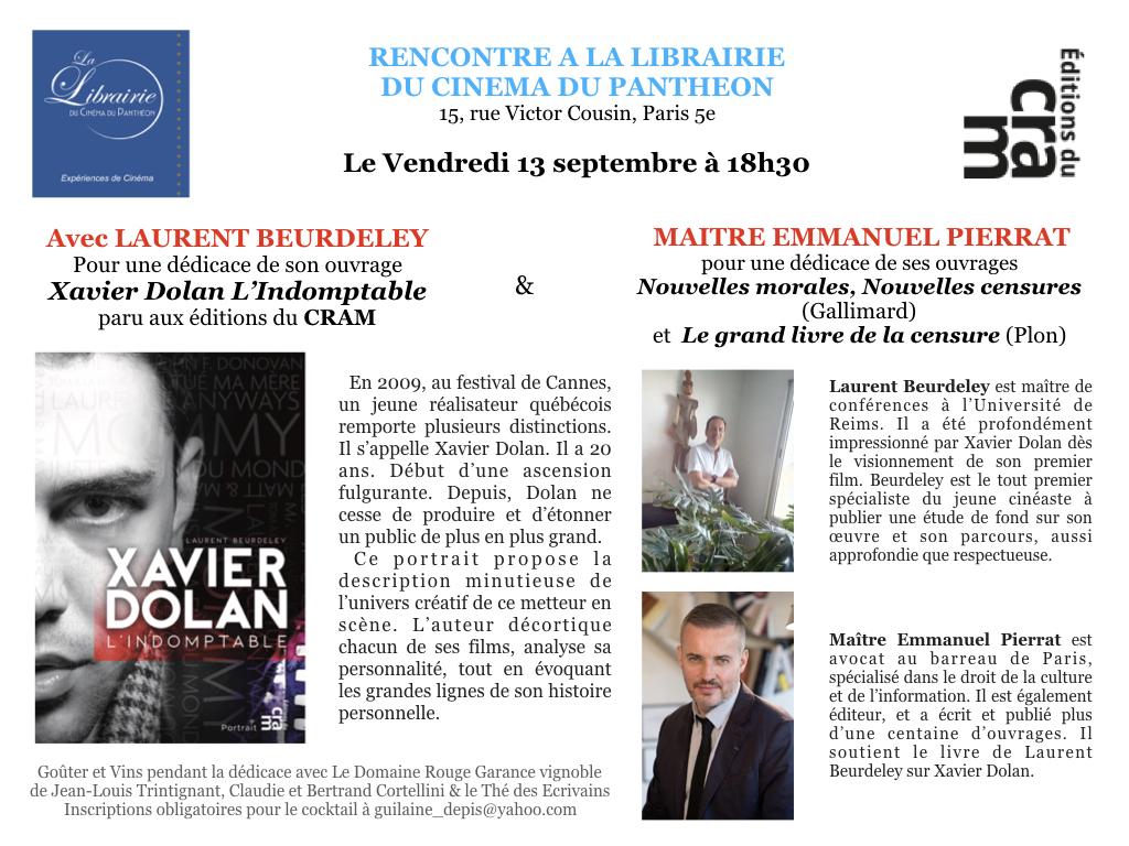 Actu Laurent Beurdeley Sur Xavier Dolan Archives